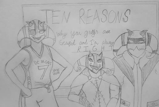 TEN REASONS - Personal Art