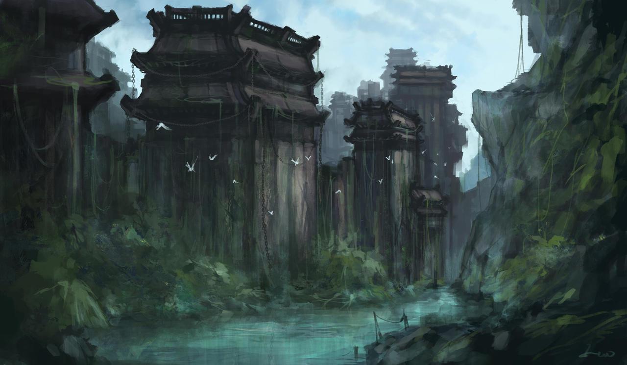 [Mission SSE] Cambriolage dans les ruines de Camelot : le vol d'Excalibur Old_castle_wall_by_hiunt-d797bh3
