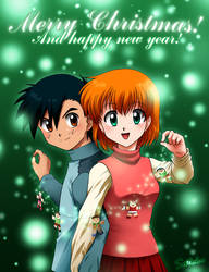 Merry Christmas 2008-2009 by LauraPaladiknight