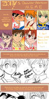 Character Obsession Meme by LauraPaladiknight