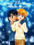 Satoshi and Kasumi - Christmas