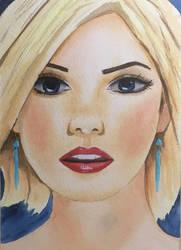 Blue Earrings by BRPyro