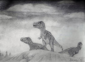 Gorgosaurus (Graphite) by Bronto-Thunder-Zaur