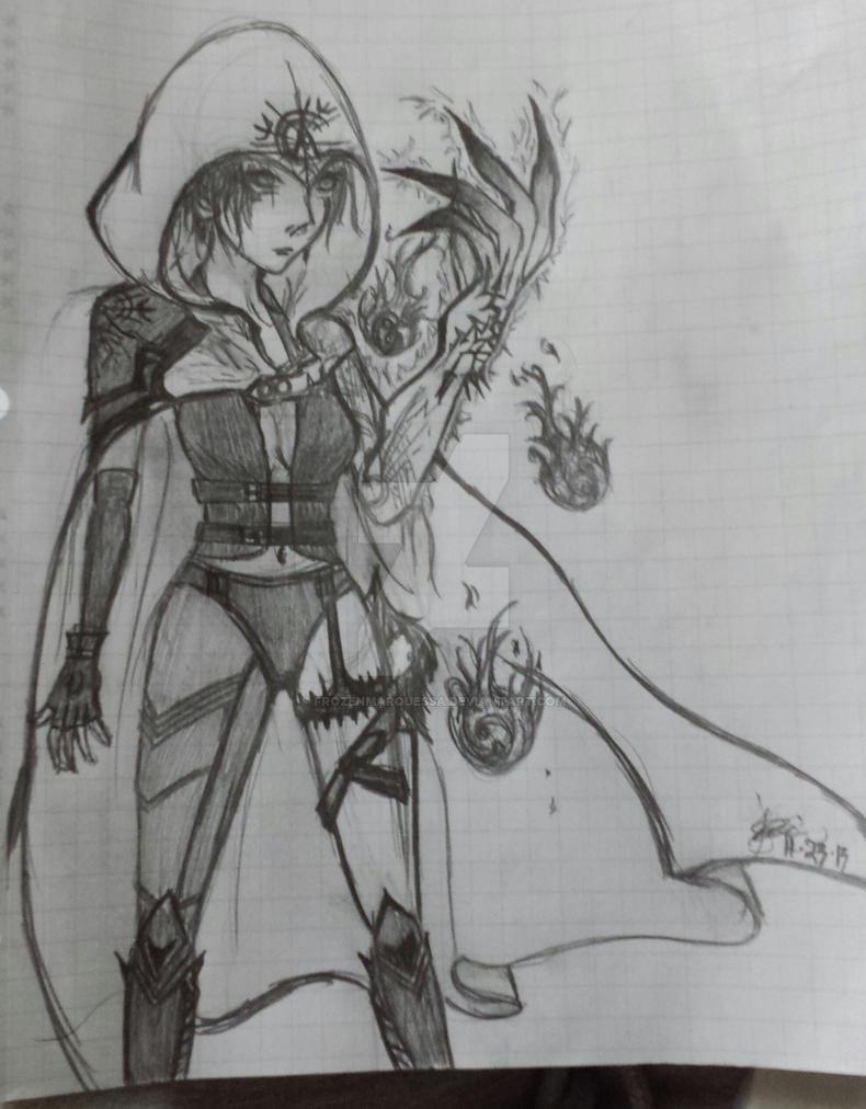 Hunter OC (Full Body) by FrozenMarquessa