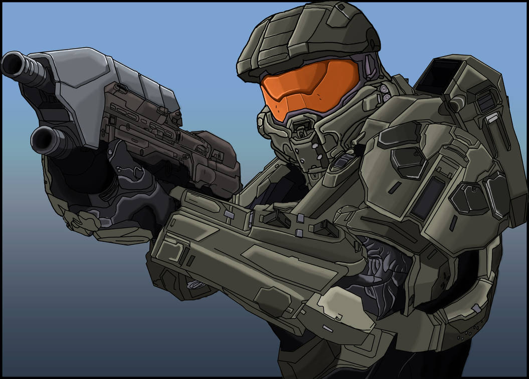 Master Chief Halo 4 By Artbyjordanpascal On Deviantart