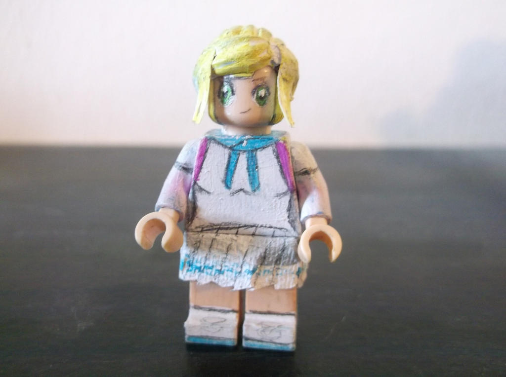 LEGO Pokemon: Sun and Moon Lillie (Z Powered Form) by ...