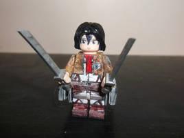 LEGO Attack on Titan: Mikasa Ackerman