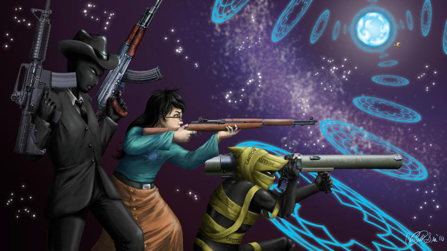 Homestuck: Gunplay by Eyes5