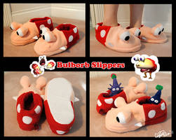 Bulborb slippers by Eyes5