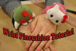 Wrist pincushion tutorial