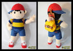 Ness Plushie by Eyes5