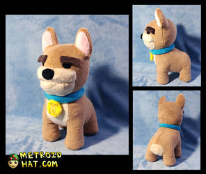 Overcooked Kevin plushie prototype