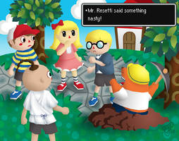 Animal Crossing: Earthbound by Eyes5