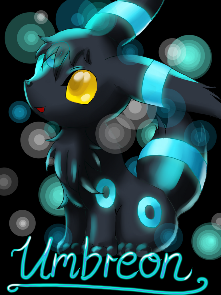 Baby Shiny Umbreon by Eaglefriend