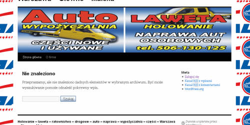 Auto towing website