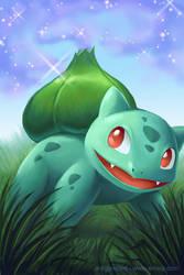 Bulbasaur's Sleep Powder by arkeis-pokemon