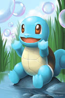Squirtle's Bubble by arkeis-pokemon