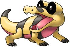 Sandile by arkeis-pokemon