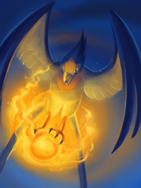 Swellow's Flame Orb by arkeis-pokemon