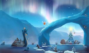 [Wallpaper] Arctic Christmas