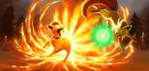 EndRun Battle - Firefox by arkeis-pokemon
