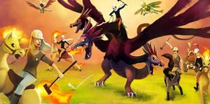 End Run - Pokemon Polo by arkeis-pokemon