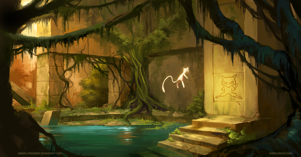 Ancient Temple by arkeis-pokemon