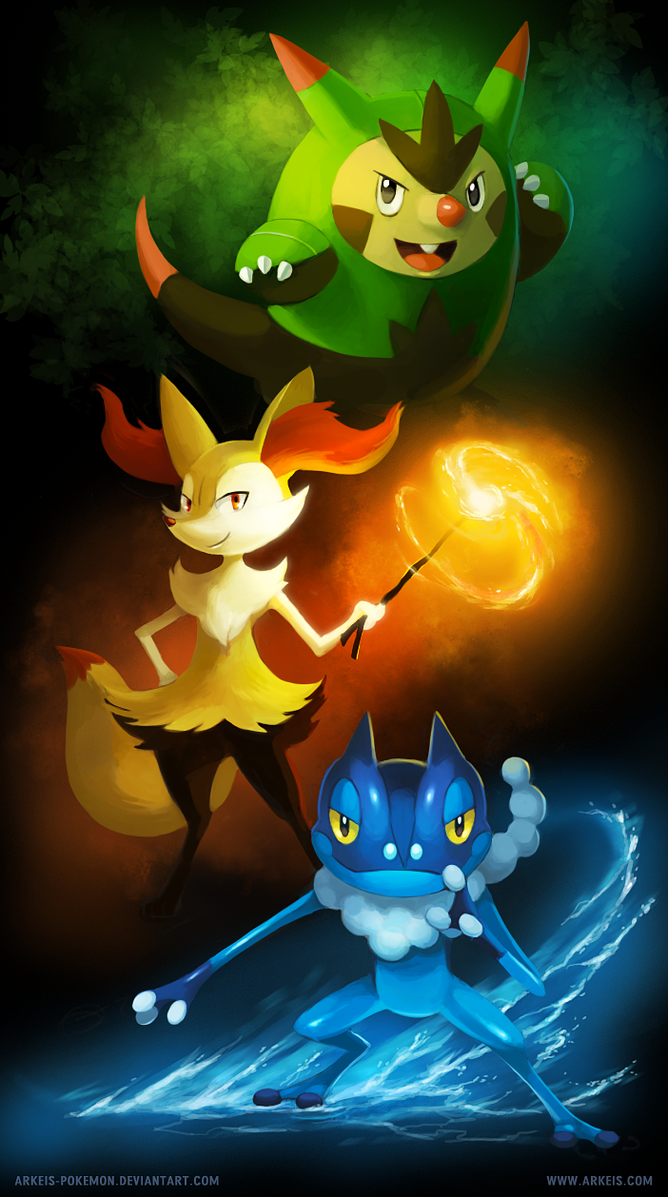 Kalos Teenagers by arkeis-pokemon