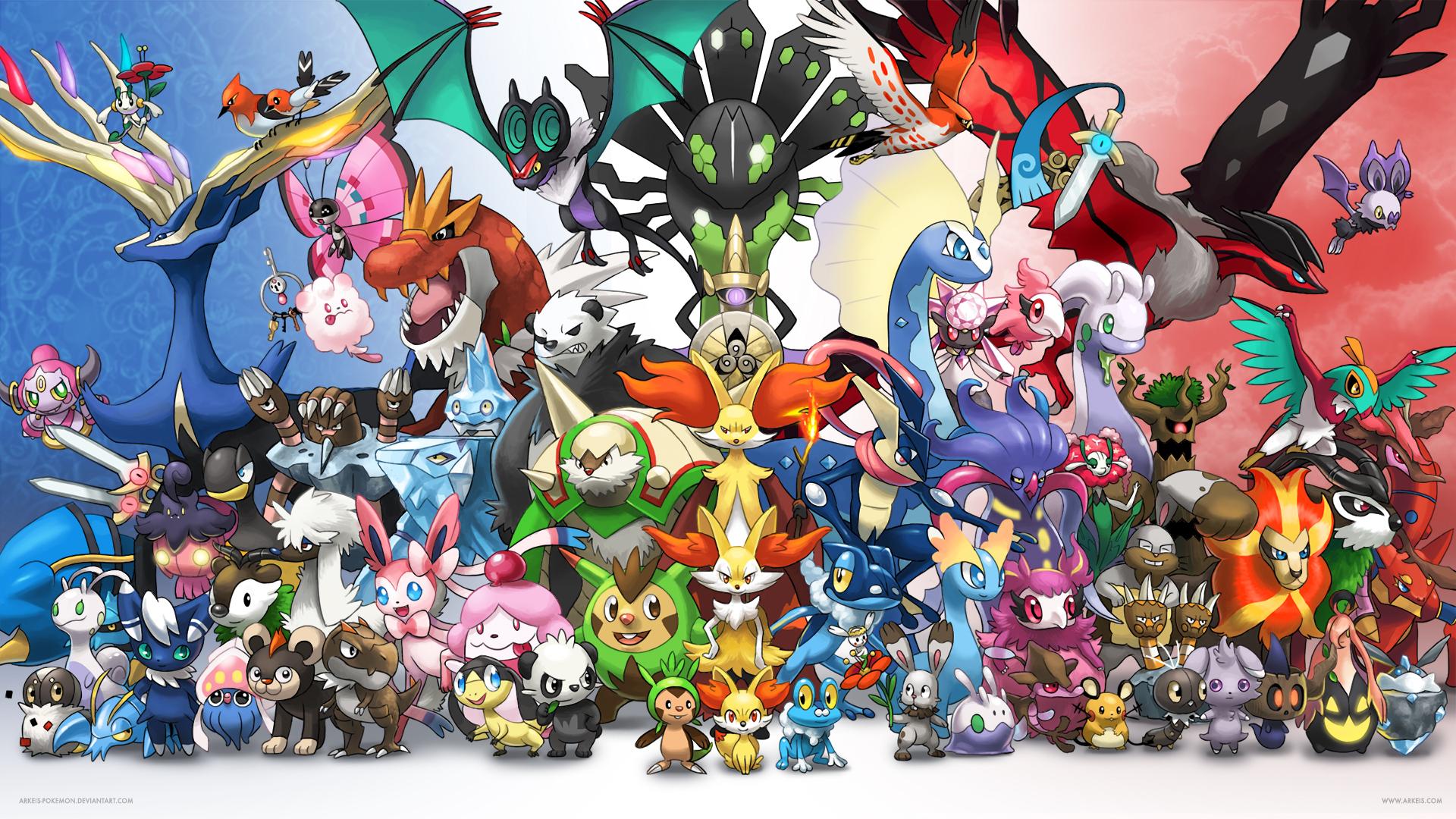 Hd wallpaper hero mobile legend - Wallpaper Generation 6 By Arkeis Pokemon On Deviantart
