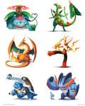 Parental Bonds by arkeis-pokemon