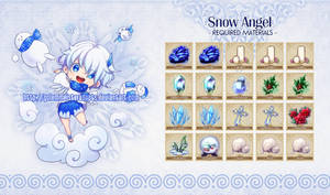[Closed] 012: Snow Angel by neeproject