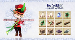 [Closed] Golem 016: Toy Soldier by neeproject