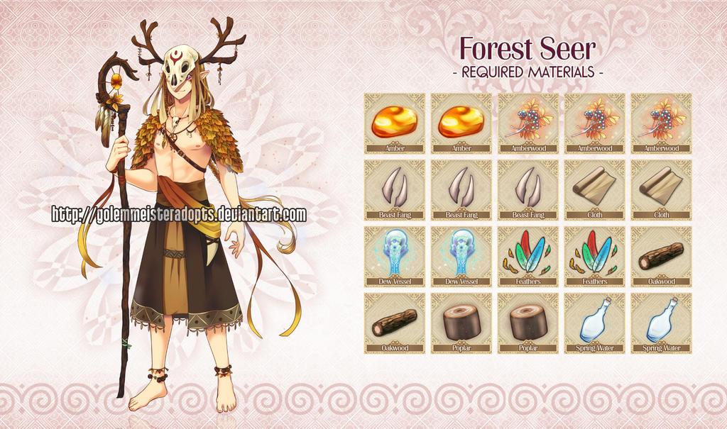 [Closed] Golem 030: Forest Seer