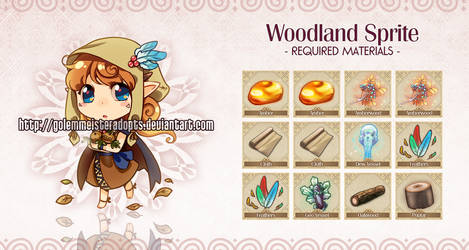 [Closed] Golem 031: Woodland Sprite by neeproject