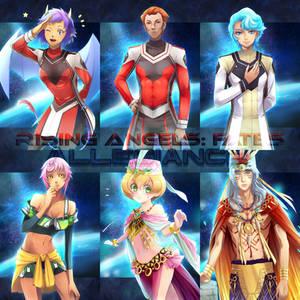 Rising Angels Fates: Allegiance Character Art