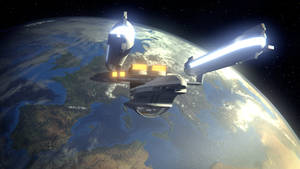 Enterprise B entering orbit