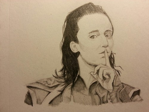 Tom Hiddleston by Kawaaaai