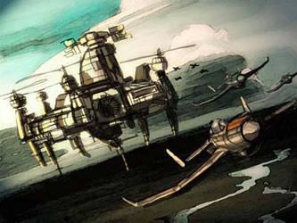 Mach's Air Base by petridish