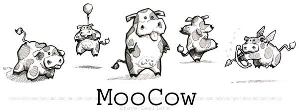 Moo Cows by petridish