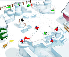 Snow Fort Game concept piece