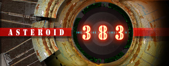 Asteroid 383 title concept by petridish