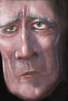 Oldman by petridish