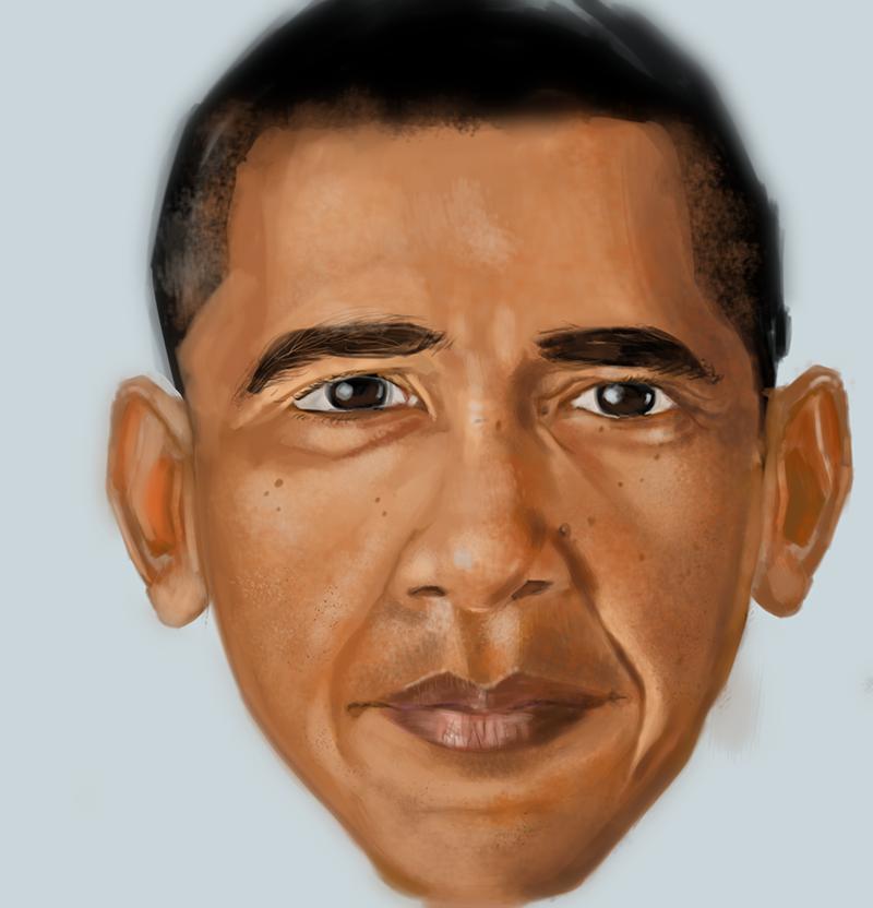 Obama by petridish