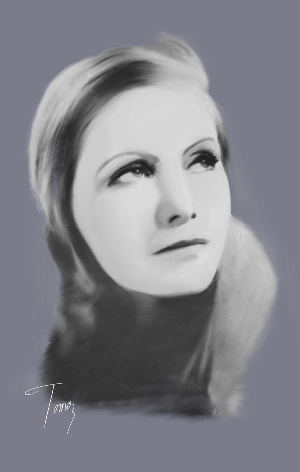 Greta Garbo by ArtOfficeTomo