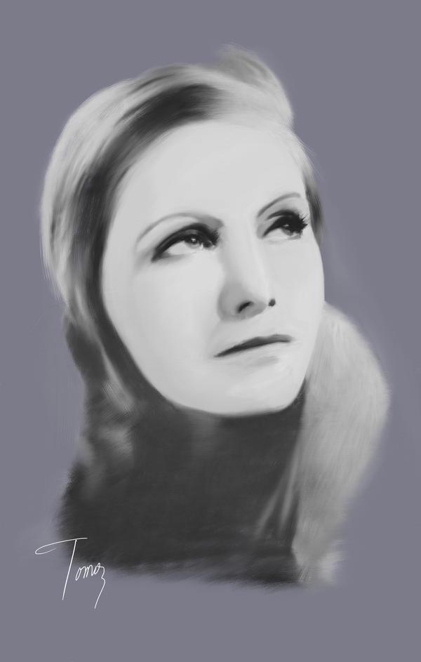 Greta Garbo by ArtOfficeTomo