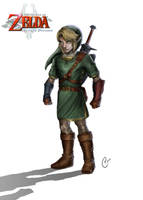 Link the hero of Hyrule by Katomaster