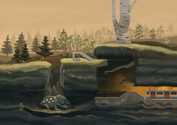 Toad Story level concept by Limely