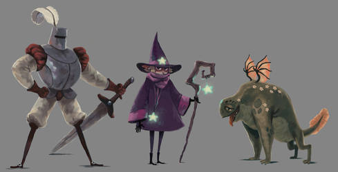 Fantasy bois by Limely