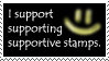 Supporting Supportive Stamps by Otogakure-Akatsuki