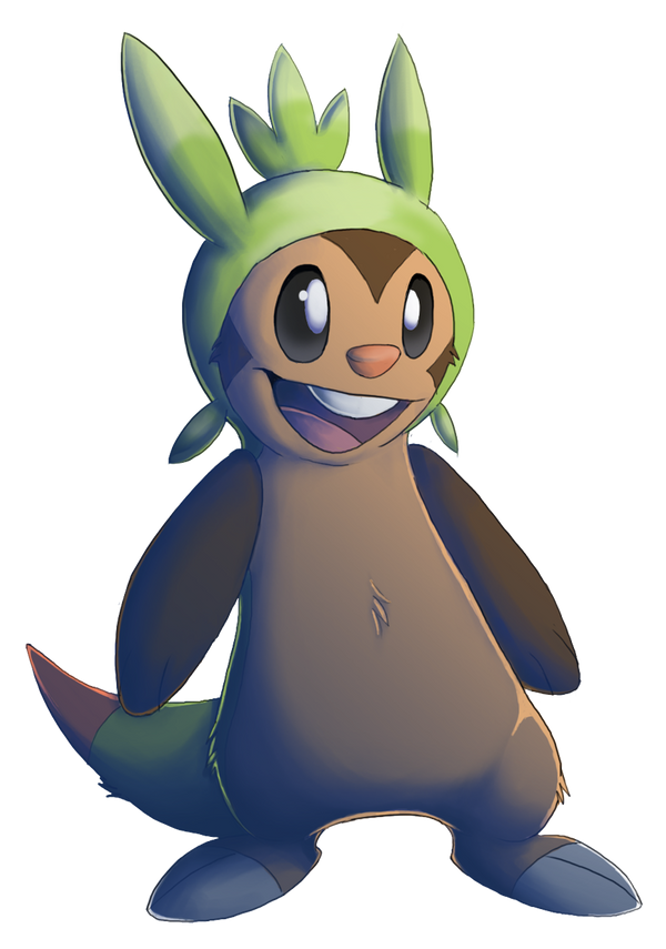 Pokemon X And Y Chespin Evolution Pokemon Chespin Second...